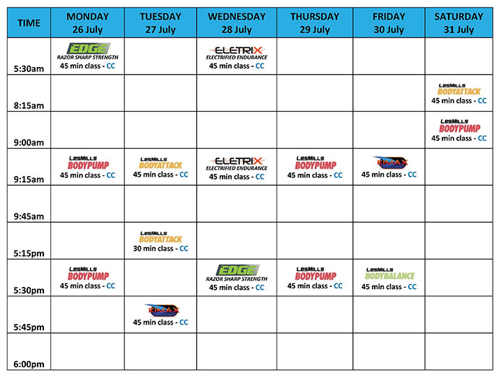 City Fitness Mackay - Weekly of 3 May