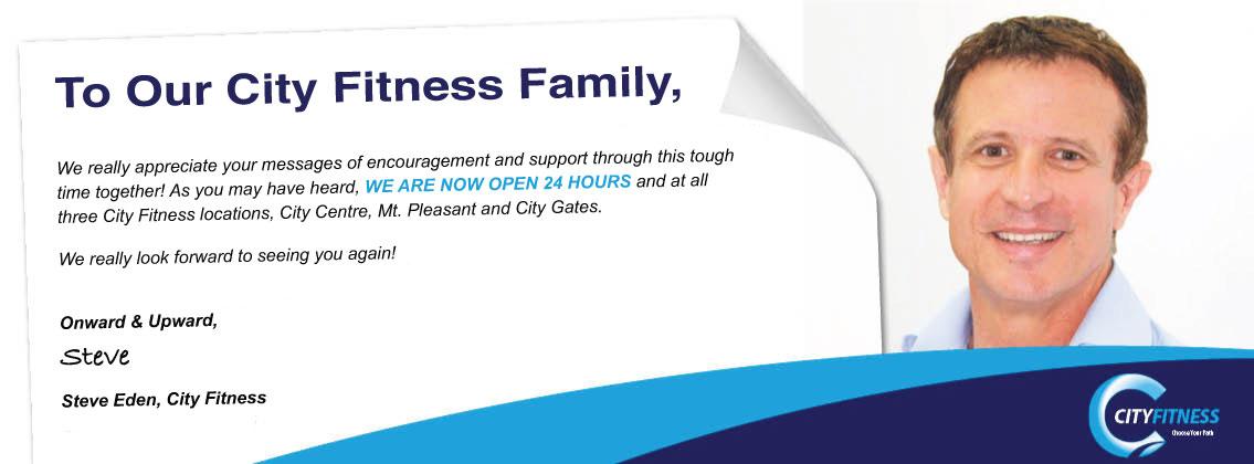 City Fitness Mackay - Reopening