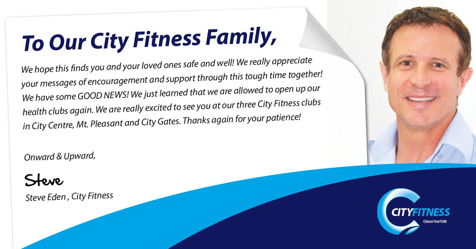 City Fitness Mackay Re-Opening