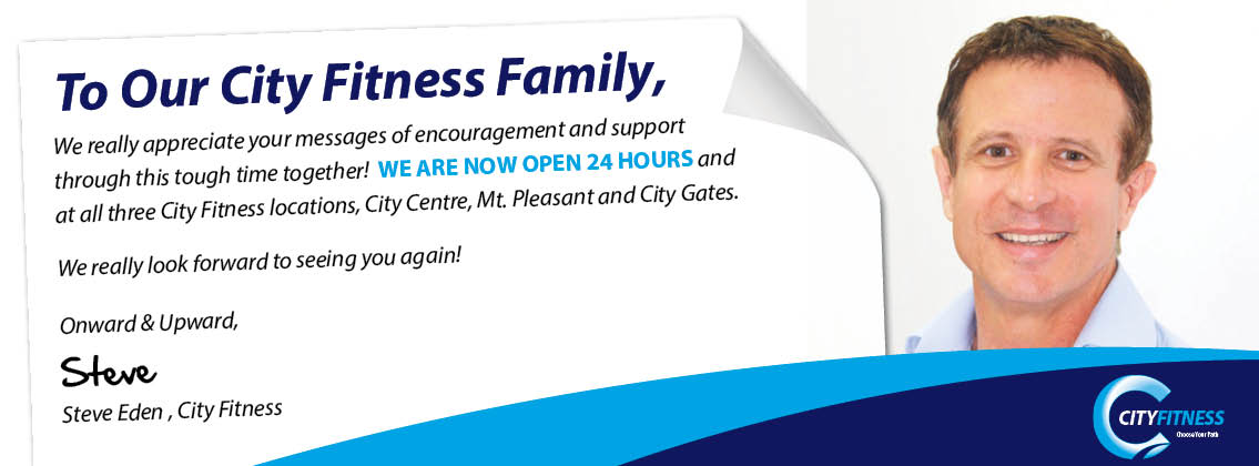 City Fitness Mackay - Reopening
