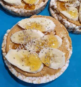 Rice Crackers & Toppings